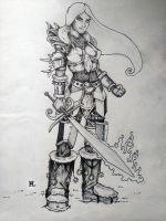 Biro Knight by Maya92