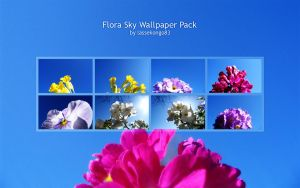 Flora Sky Wallpaper Pack by lassekongo83