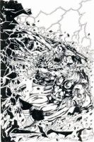 Thor vs Doomsday by adey01