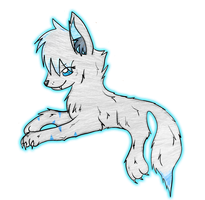 Wolf OC Ice Fang :3 by CKittyKat98