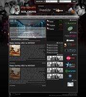 Dog Soldiers webdesign by snoopycz