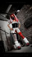 Cybergoth Nurse Costume 06 by Bastetsama-Cosplay