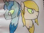Art trad for hilidia! by BlondeBrony