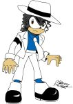 Michael Jackson The Hedgehog  Smooth Criminal by Mawinthehedge