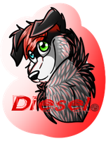 Con Badge Commission: Diesel by BipolarWolfy