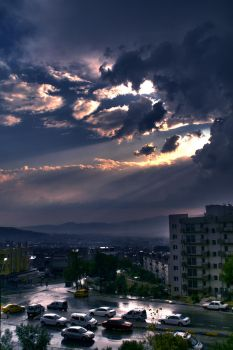 Hdr - Clouds by maviakrep