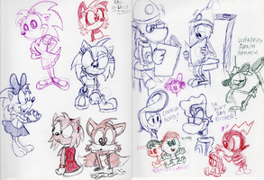 Pen Doodles Oct-2013 by spongefox