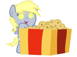 Filly Derpy Xmas Gift Vector by ShinodaGE