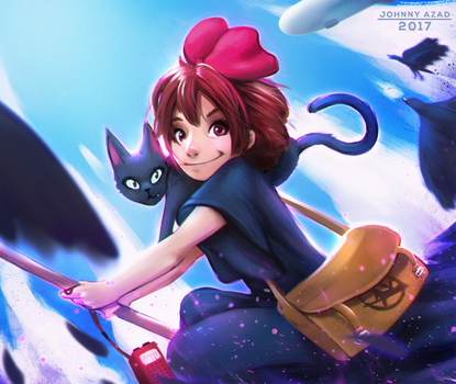 Kiki's Delivery Service by JohnnyAzad