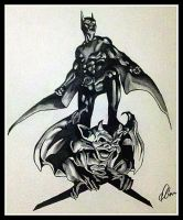 Batman Beyond by BlackhawksWin76