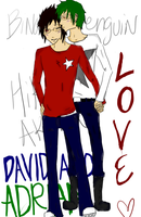 David and Adrian -- Love by WickedlyxInsane