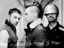 30 Seconds to Mars Wall 314 by martiansoldier