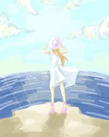 Inoue Orihime: summer by Rivell