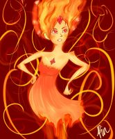 Flame Princess by Rinacoco