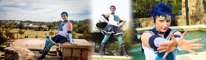 Cosplay: Age Appropriate Sailor Mercury by TempestFae