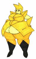 Yellow Diamond BBW by Mizz-Britt