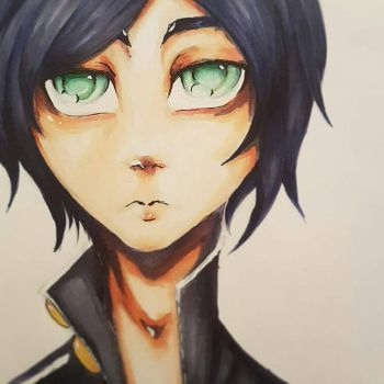 [OC] Slightly old copic attempt  by Satou-su