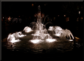 Dancing in the Night Fountain by WDWParksGal