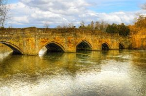 Bridge over the river Wye by NickField
