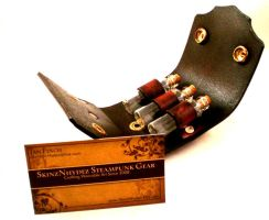 Steampunk Vial Holster the 4th by Skinz-N-Hydez