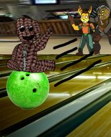AT At the bowling alley by SuperSaiyanCrash