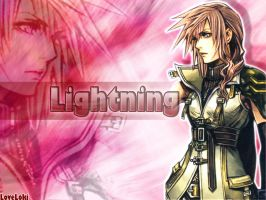 Lightning Pink from Dissidia 2 by LoveLoki