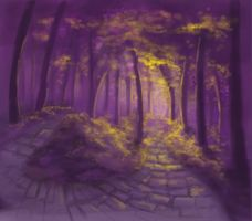 Forest speed painting by sc189