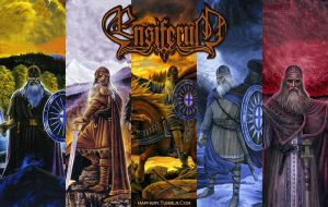 Ensiferum Wallpaper by crystalfalls