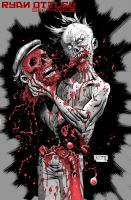 walking dead zombie by RyanOttley