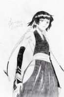 Bleach: Soi Fon -2- by 19Skejciara10