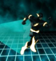 The Flash Enters The Grid by tclarke597