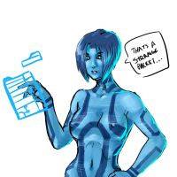 cortana corrupted by Oppaiman
