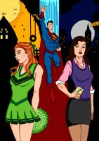Superman~Tale Of Two Lovers.. by Comicbookguy54321