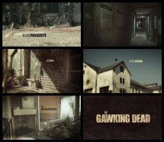 The Walking Dead Title Sequence: Selfmade by gas01ine