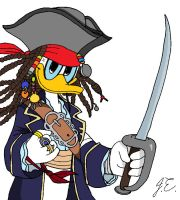 Captain Don Sparrow by BluSilvrPaladin