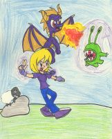 Sonia and Spyro - Defend One and All by Piplup88908