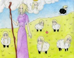 Claymore as..... SHEEP???? by HieiSetsunaShika