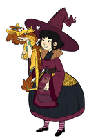 witch and familiar! by ryuukuringo