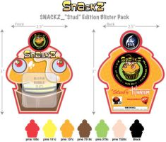 Snackz Blister Card by junroc