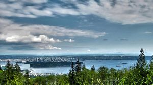 Vancouver Skyline HDR by DTherien
