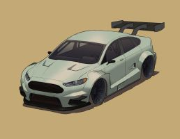 WIP2_2013 Ford Mondeo DTM by tincap