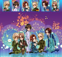 APH-Hetalia's party time by TrixSr