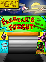 BACK WITH VENGEANCE FNAF COMIC PAGE 1 by Kittylover9399