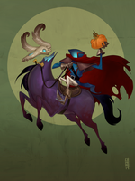 Headless Horseman by CamaraSketch