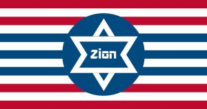 Zionist American Flag by AmericanSFR