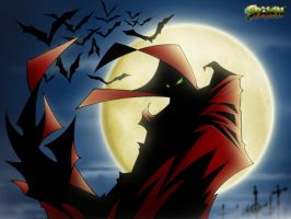 Spawn - Full Moon by deadPxl