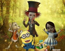 Happy Minion Easter 2011 by terrya7