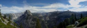Yosemite Panorama by G-Go