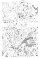 Spiderman Vs. Octopus! page1 by andrearsandbabs
