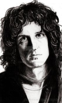 Brian May. QUEEN by Red-Szajn